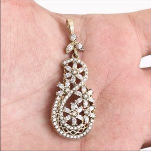 🆕 Sultan Ottoman High quality Topaz Pendant
